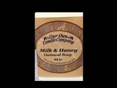 Milk & Honey (Oatmeal  Soap)