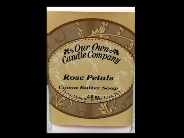 Rose Petals (Cocoa Butter Soap)