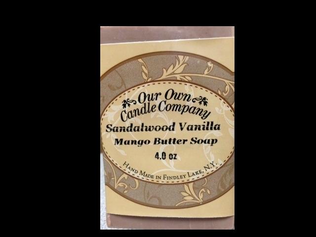 Sandalwood Vanilla (Mango Butter Soap)