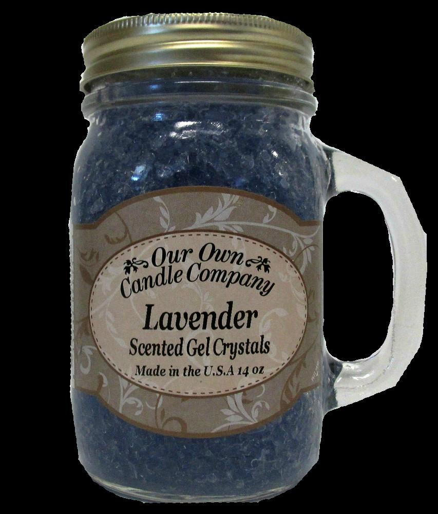 Lavender Scented Gel Crystals