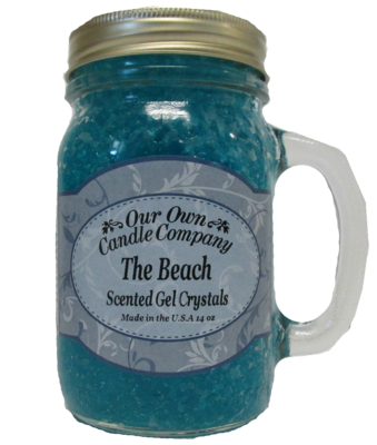 The Beach Scented Gel Crystals