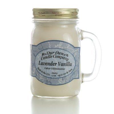 Lavender Vanilla Odor Eliminating Mason
