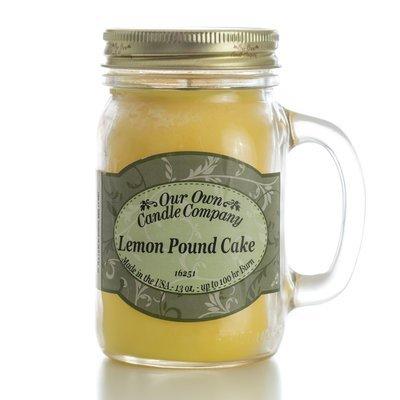 Lemon Poundcake Mason