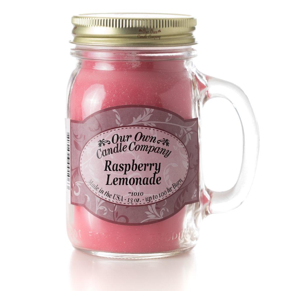Raspberry Lemonade Mason