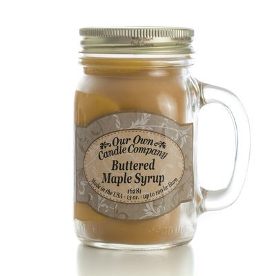 Buttered Maple Syrup Mason
