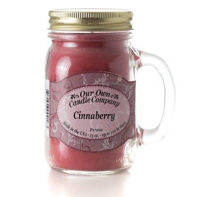 Cinnaberry Mason Jar Candle