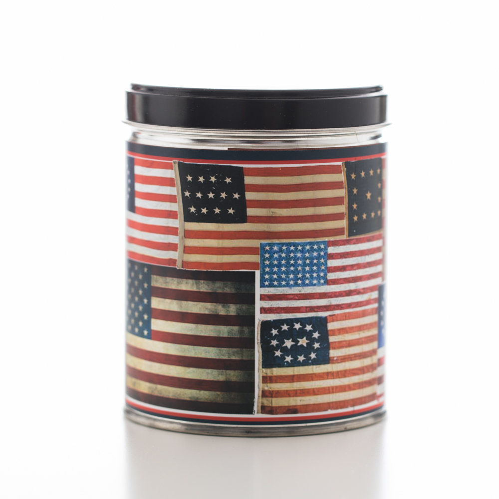 AMERICAN AS APPLE PIE TIN