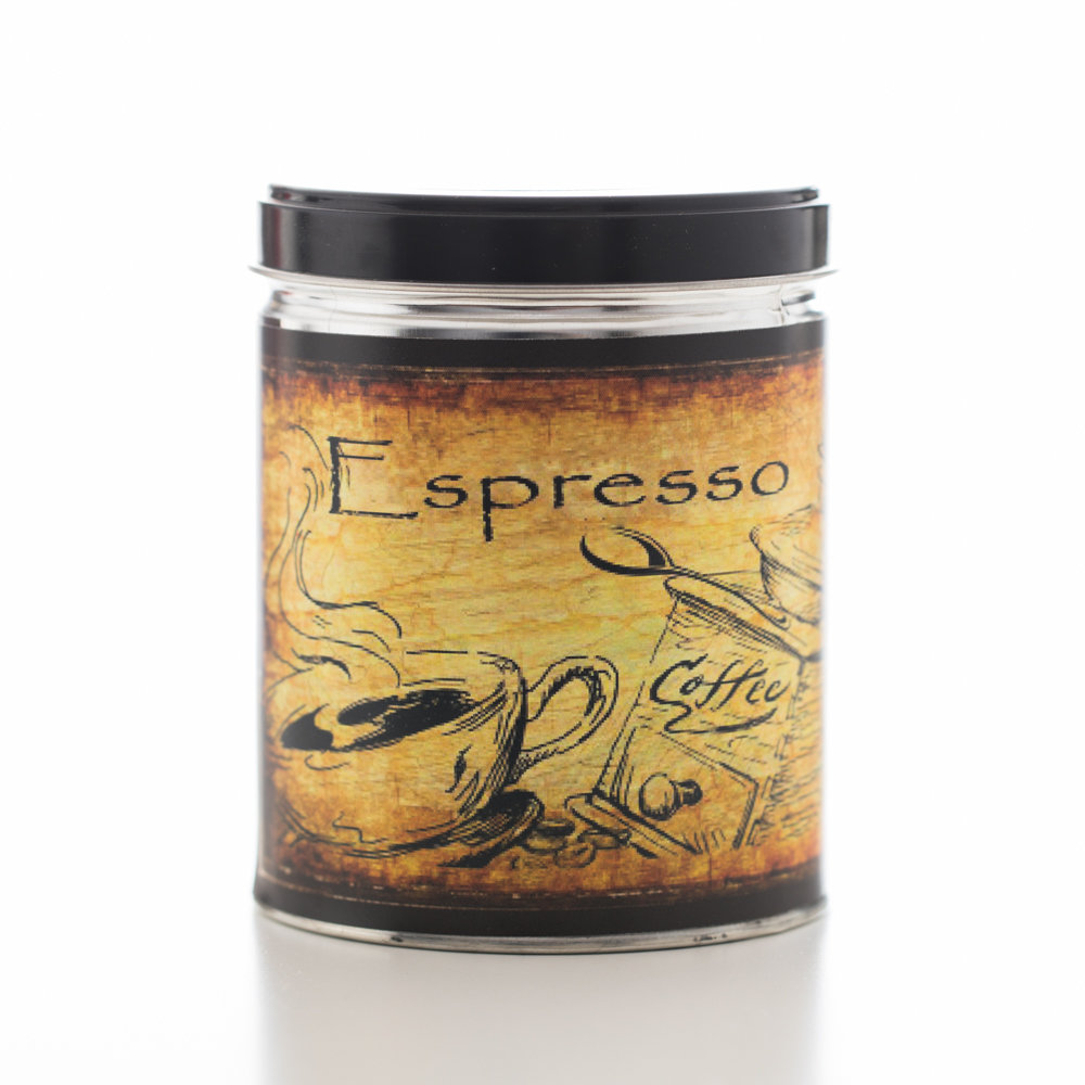 Espresso Decorative Tin
