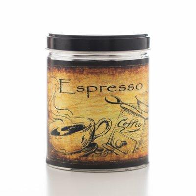 Espresso Decorative Tin