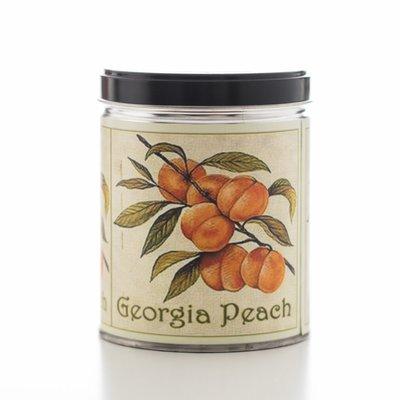 Fresh Peach Decorative Tin