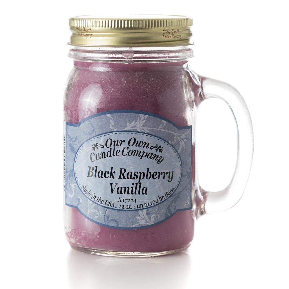 Black Raspberry Vanilla Mason
