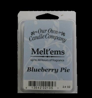 Blueberry Pie Melt'em - 6 Cube 2.4 ounce