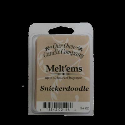 Snickerdoodle Melt'em - 6 Cube 2.4 ounce