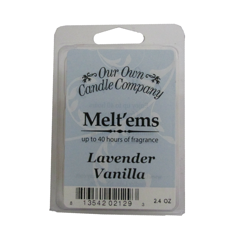 Lavender Vanilla Melt'em - 6 Cube 2.4 ounce
