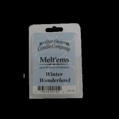 Winter Wonderland Melt'em - 6 Cube 2.4 ounce