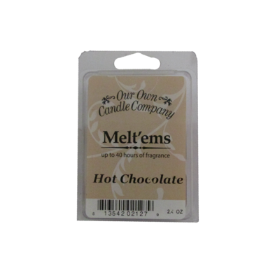 Hot Chocolate Meltem - 6 Cube 2.4 ounce