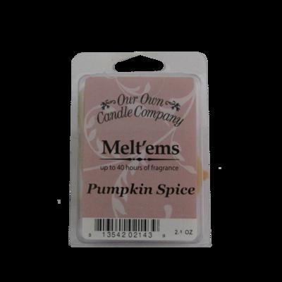 Pumpkin Spice Melt'em - 6 Cube 2.4 ounce