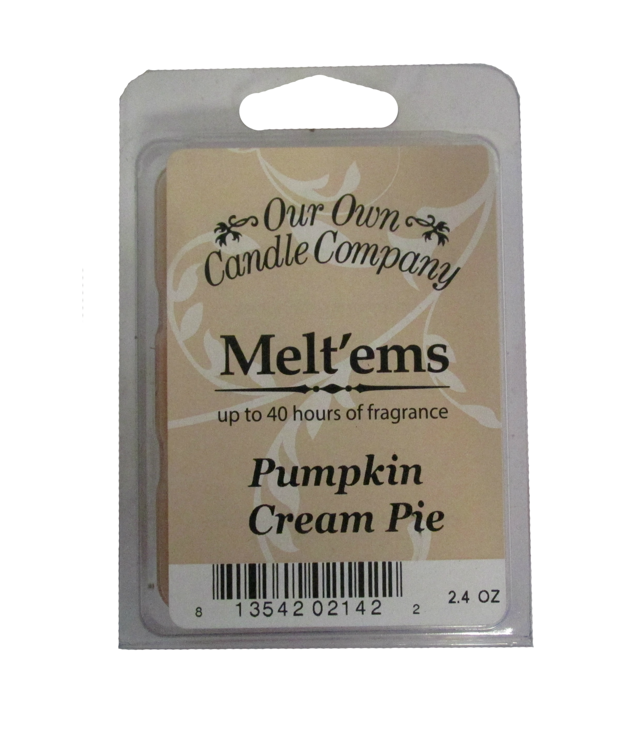Pumpkin Cream Pie Melt'em - 6 Cube 2.4 ounce