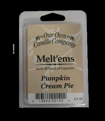 Pumpkin Cream Pie Melt'em - 6 Cube 2.4 ounce
