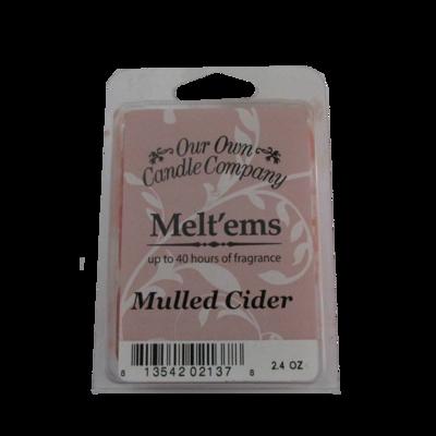 Mulled Cider Melt'em - 6 Cube 2.4 ounce