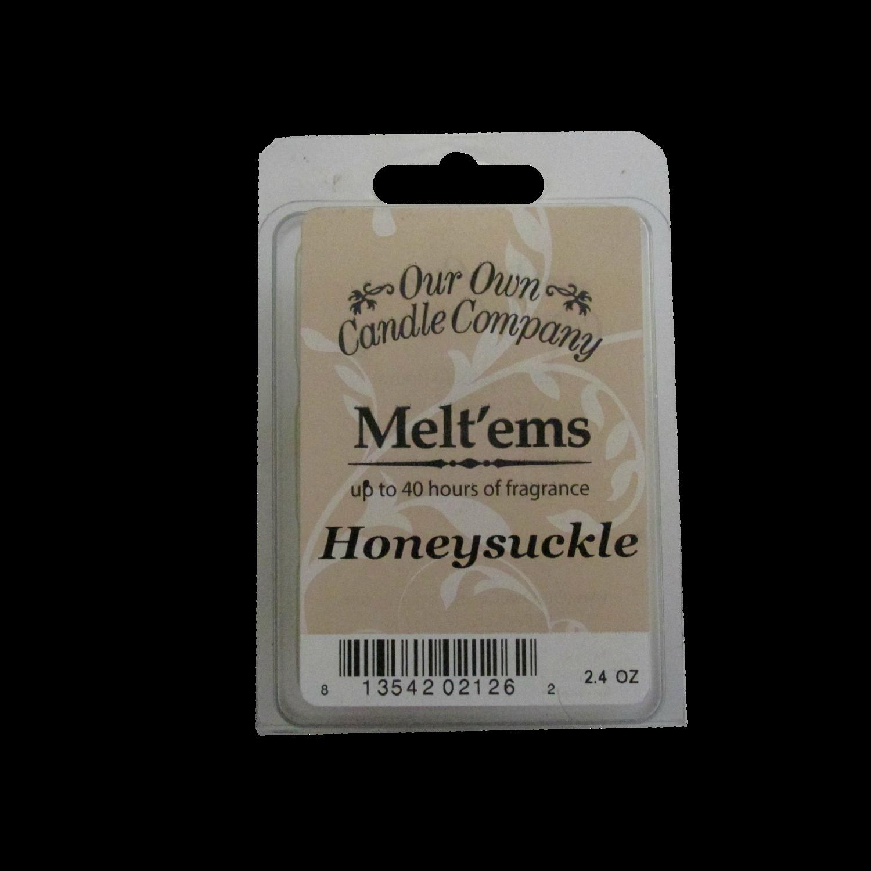 Honeysuckle Melt'em - 6 Cube 2.4 ounce