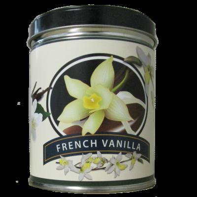 FRENCH VANILLA IN VANILLA FLOWER TIN