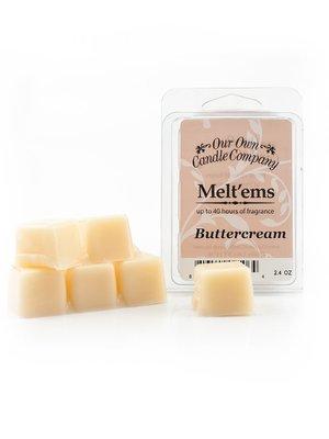 Buttercream Melt'em - 6 Cube 2.4 ounce