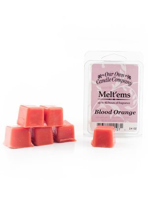 Blood Orange Melt'em - 6 Cube 2.4 ounce
