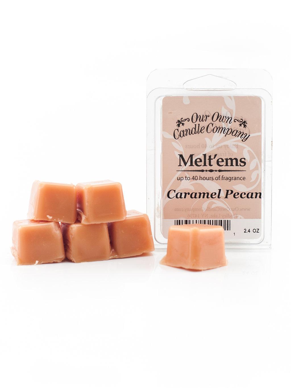 Caramel Pecan Melt'em - 6 Cube 2.4 ounce