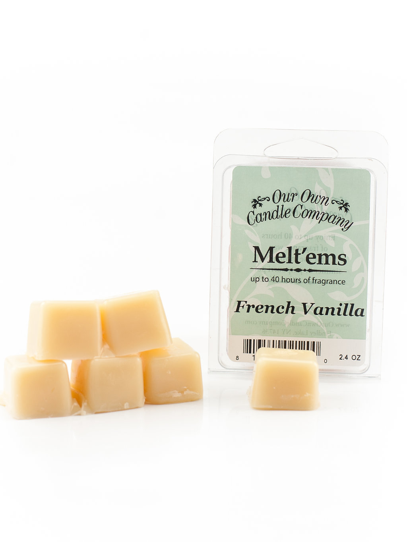 French Vanilla Melt'em - 6 Cube 2.4 ounce