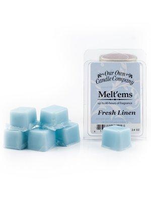 Fresh Linen Melt'em - 6 Cube 2.4 ounce