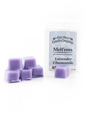 Lavender Chamomile Melt'em - 6 Cube 2.4 ounce