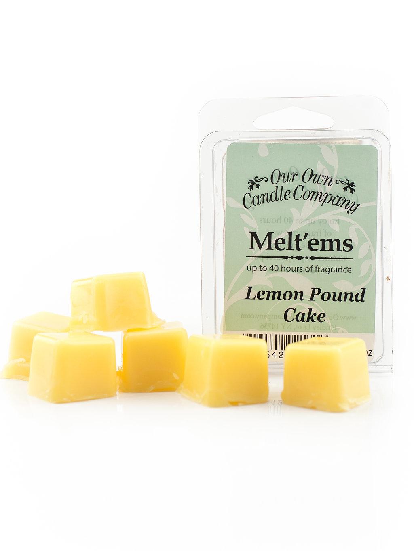Lemon Poundcake Melt'em 6 - Cube 2.4 ounce