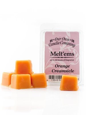 Orange Creamsicle Melt'em - 6 Cube 2.4 ounce