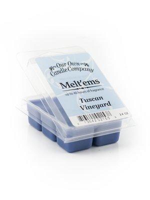 Tuscan Vineyard Melt'em - 6 Cube 2.4 ounce