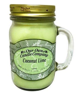 Coconut Lime Mason