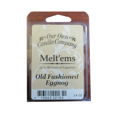 Old Fashion Eggnog Melt'em - 6 Cube 2.4 ounce