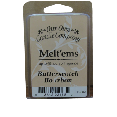 Butterscotch Bourbon Meltem - 6 Cube 2.4 ounce