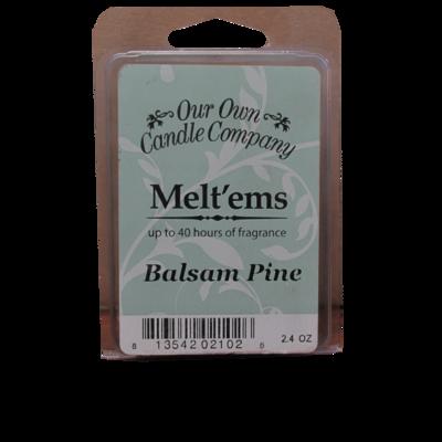 Balsam Pine Melt'em - 6 Cube 2.4 ounce