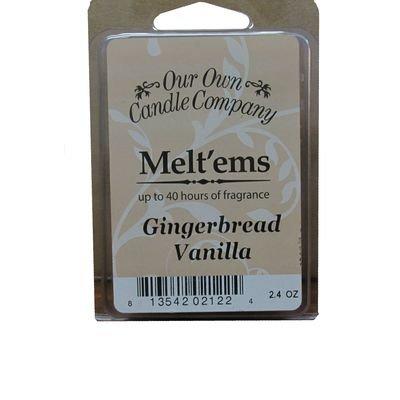 Gingerbread Vanilla Melt'em - 6 Cube 2.4 ounce