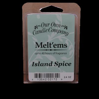 Island Spice Melt'em - 6 Cube 2.4 ounce