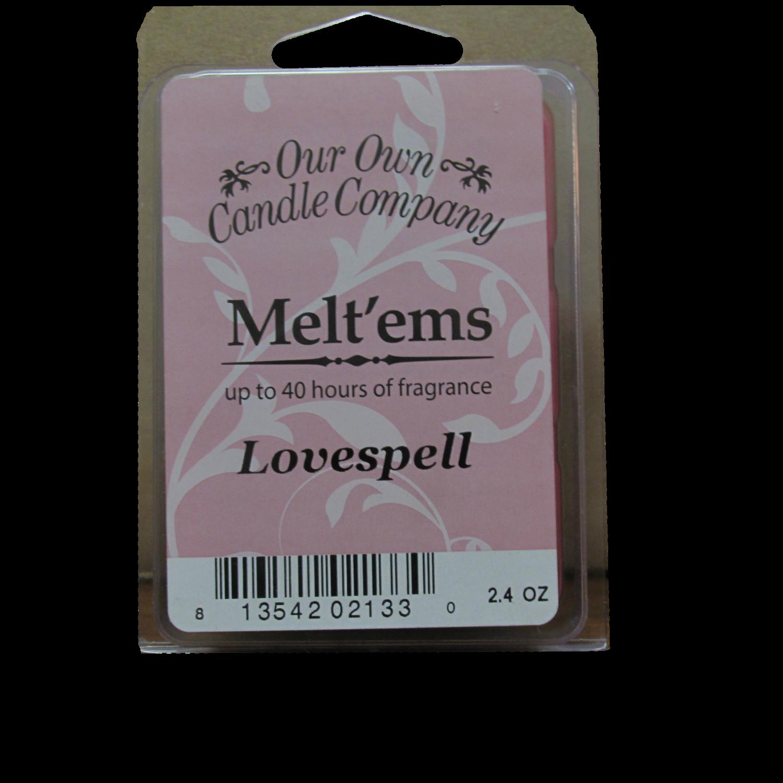 Lovespell Melt'em - 6 Cube 2.4 ounce
