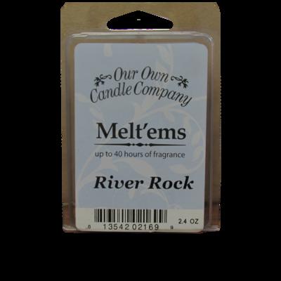 River Rock Melt'em - 6 Cube 2.4 ounce