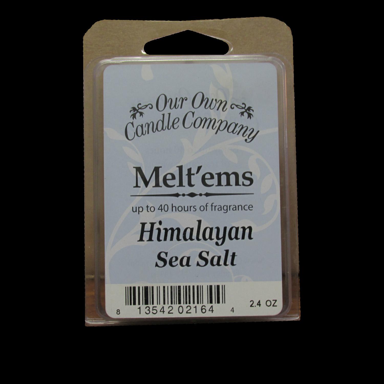 Himalayan Sea Salt Melt'em - 6 Cube 2.4 ounce
