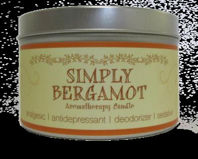 Bergamot Aroma Therapy Candle