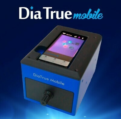 Dia True mobile is portable and the fastest diamond detector on the market