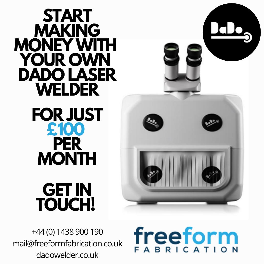 DaDo – The Most Affordable laser welder for professional workshops