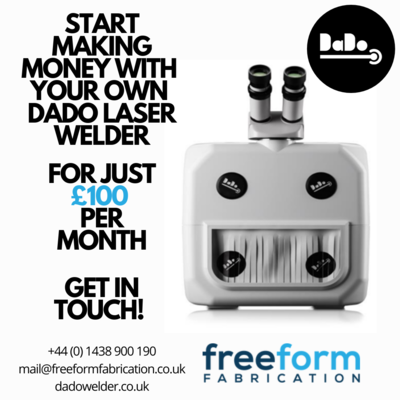 DaDo – The Most Affordable laser welder for professional workshops