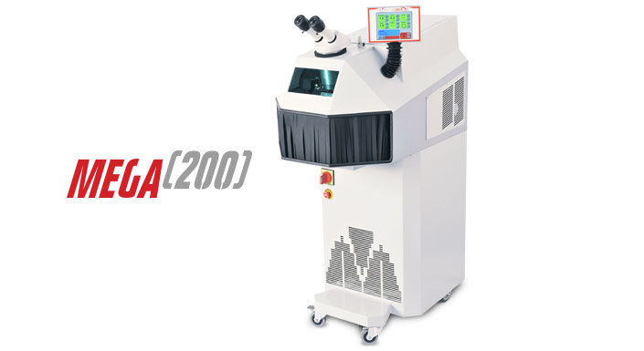 Industrial Laser Welding machines - Mega 200