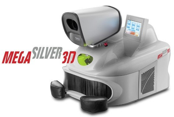 Laser welding machines - Mega silver 3D